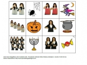 Flashcards de Halloween con Lengua de Signos