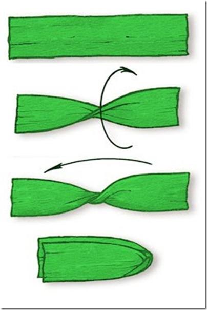 Taller de árbol Navideño hecho de papel crepé | Lengua de Signos ...
