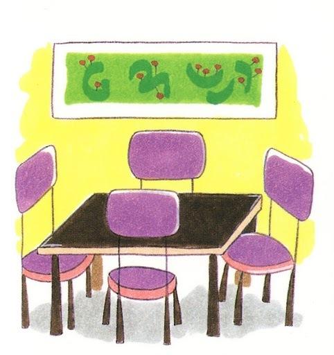 Partes b sicas de la casa en lse lengua de signos espa ola for Comedor para dibujar