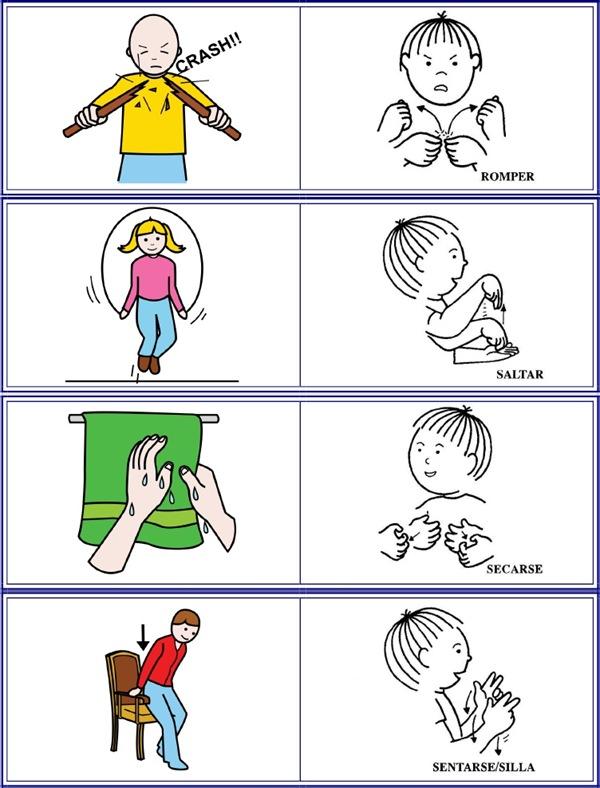 acciones en lse 2 lengua de signos espa ola
