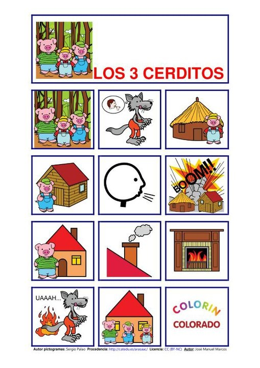 pictogramas para niños con tea pdf