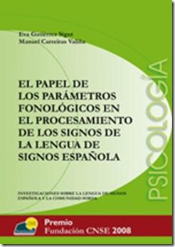 Papel parámetros fonológicos en procesamiento de los signos... (CNSE) (descargar on-line) PortadaPsicologiaEvaGutierrez_thumb