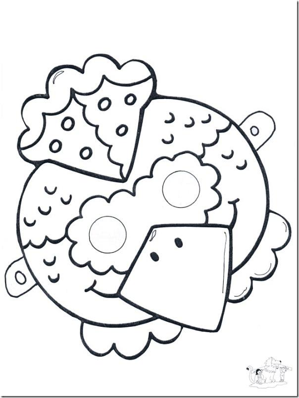 Taller de caretas (imprimir y colorear)   Lengua de Signos Española