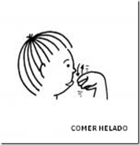 COMER HELADO