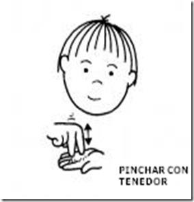PINCHAR CON TENEDOR