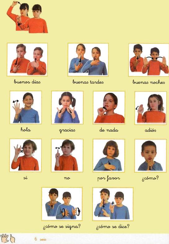 Lengua de Signos Española » Saludos y presentaciones en LSE